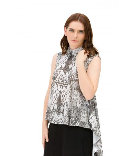 Asymmetrical top with python print