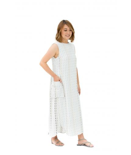Knit relaxed fit dress