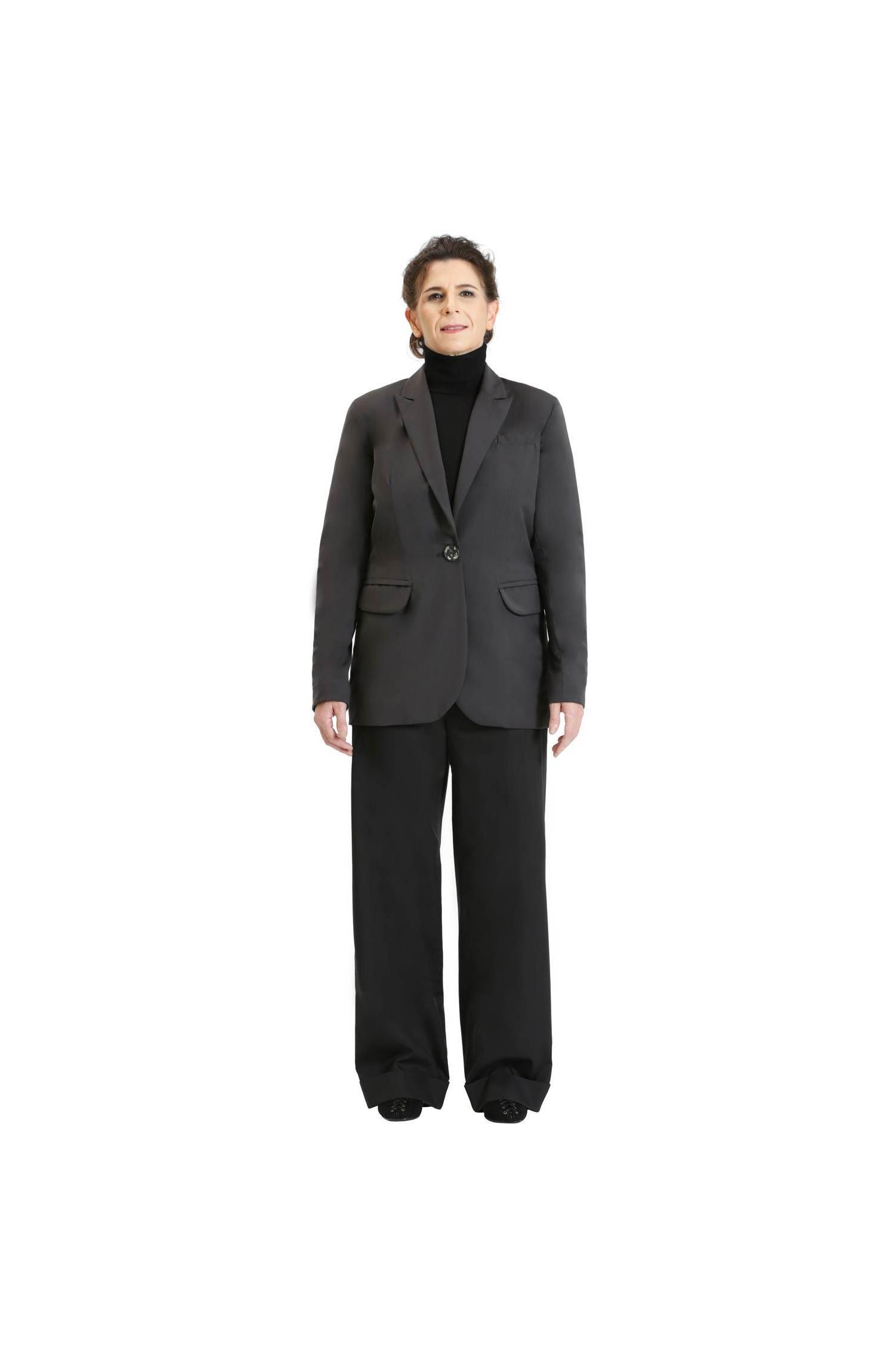Classic dark grey blazer