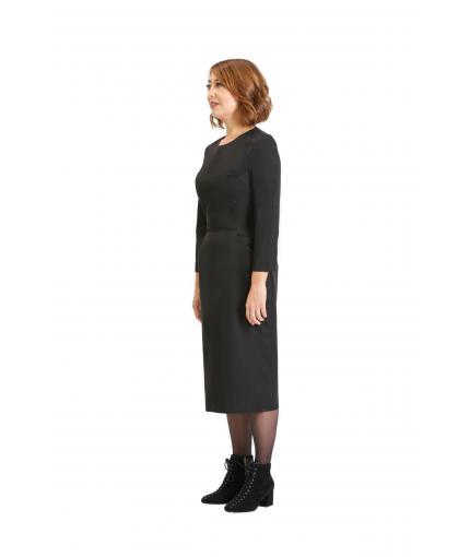 Smart black dress
