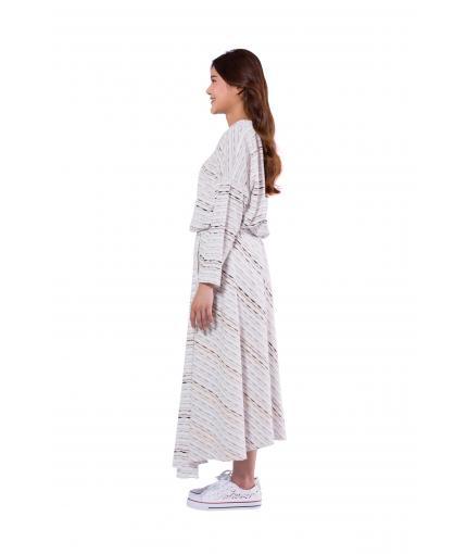 Cotton bias cut skirt