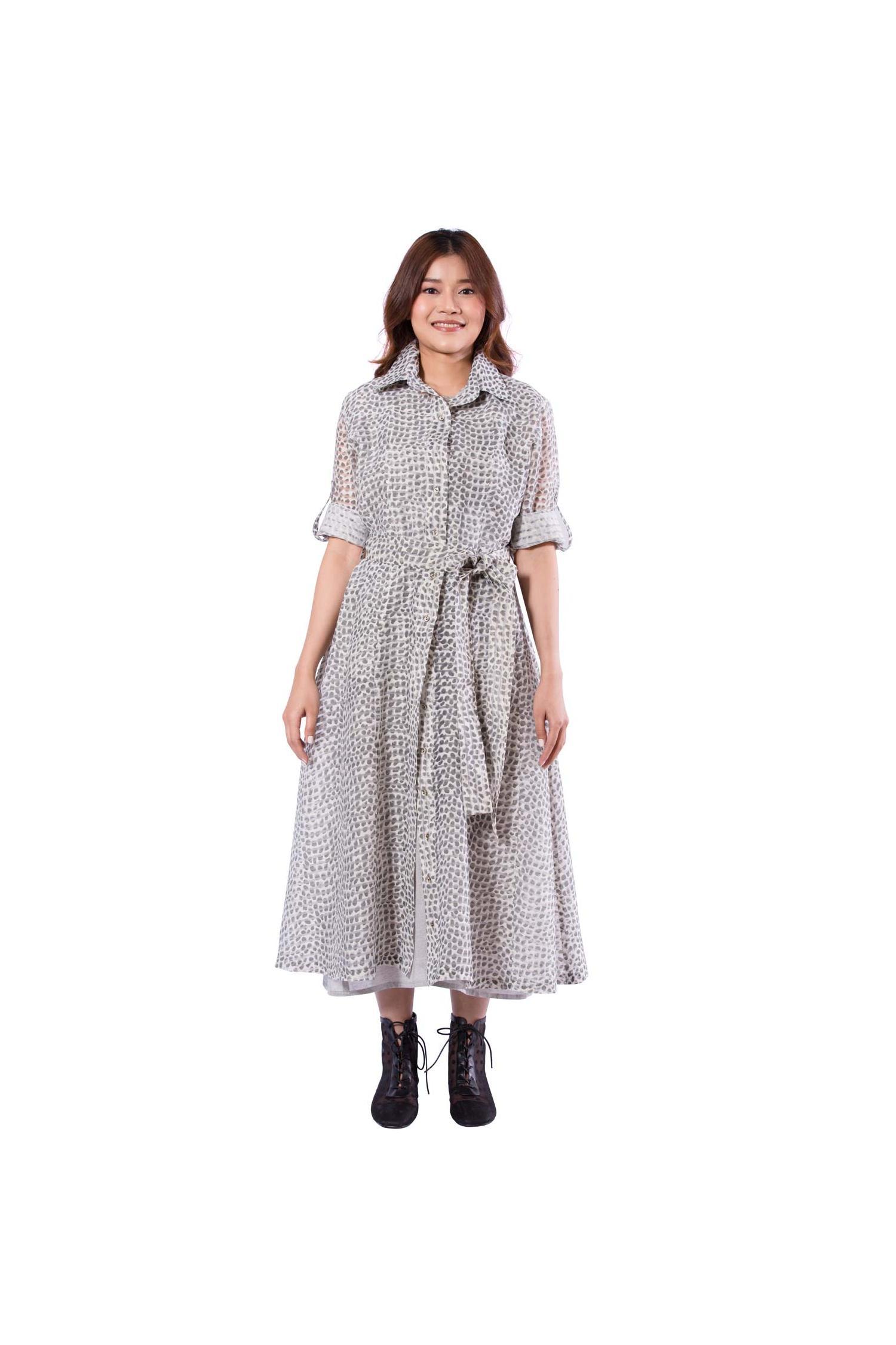 Elegant shirt dress