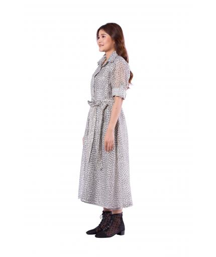 Elegant shirt dress