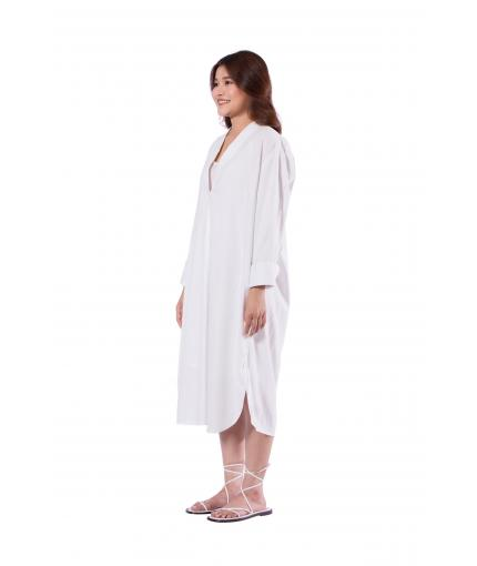 White relaxed dress | shirt