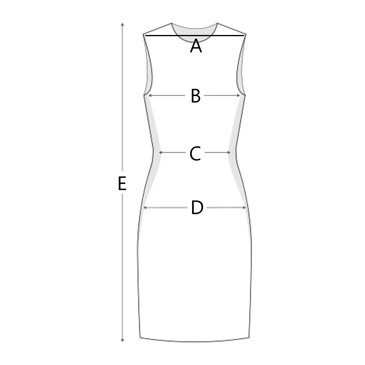 size-chart illustration