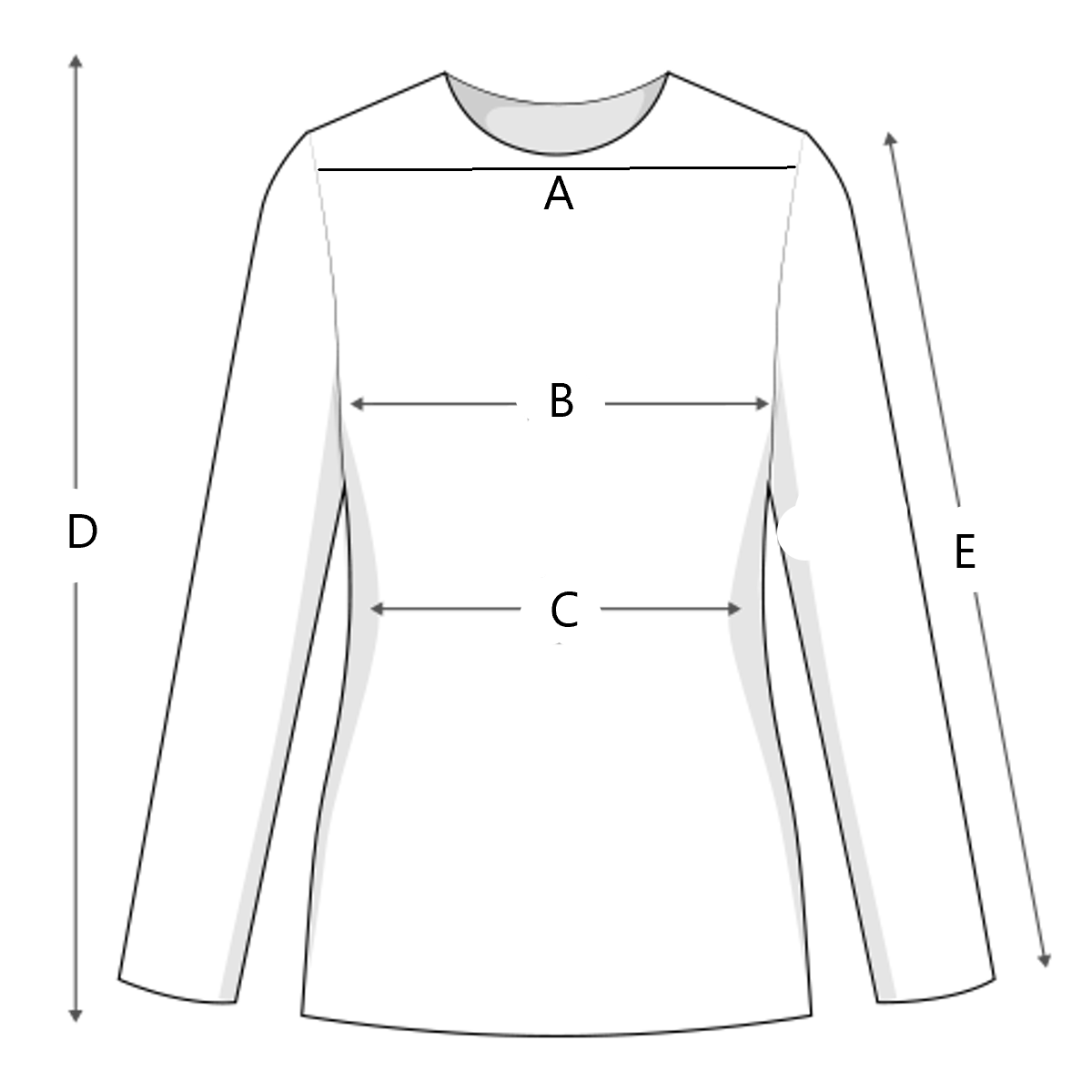 size-chart illustration